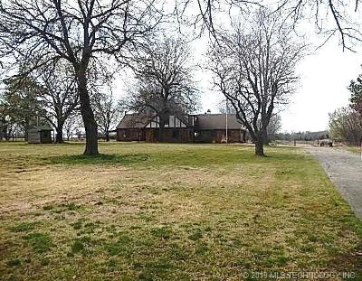 Bartlesville Single Family Home For Sale: 19301 N 4030 Road