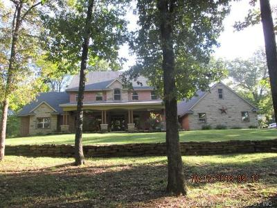 Fort Gibson OK Single Family Home For Sale: $469,000
