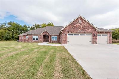 Claremore Single Family Home For Sale: 21744 Summit Trail