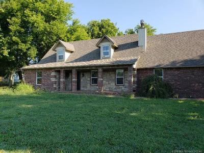 Claremore Single Family Home For Sale: 11871 Laurel Lane