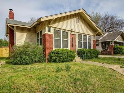 Tulsa Single Family Home For Sale: 1215 S Lewis Place