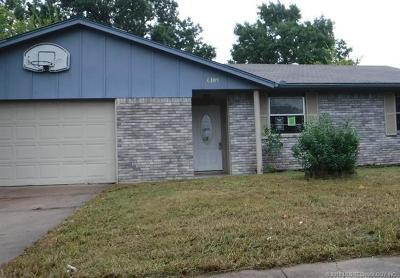Broken Arrow Single Family Home For Sale: 6109 S 116th East Avenue