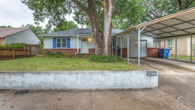 Tulsa Single Family Home For Sale: 5136 S Troost Avenue