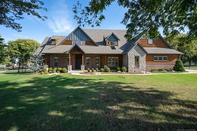 Owasso Single Family Home For Sale: 6717 Hummingbird Court
