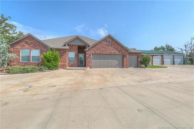 Sapulpa Single Family Home For Sale: 6475 Mandy Court