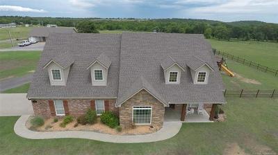 Okmulgee County Single Family Home For Sale: 7865 Hornbeam Road