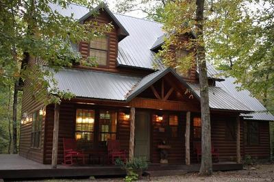 Broken Bow Single Family Home For Sale: 102 Fork Creek Trail