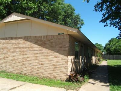 Coweta Multi Family Home For Sale: 30379 E 151st Street S