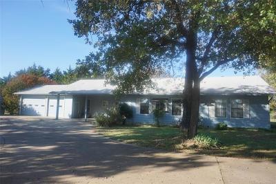 Henryetta Single Family Home For Sale: 25170 Wilson Road