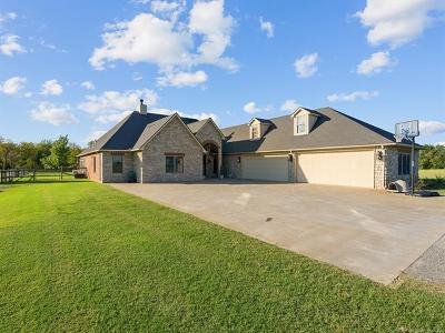 Pryor Single Family Home For Sale: 1529 Clayton Road