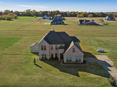 Claremore Single Family Home For Sale: 16130 S 4100 Road