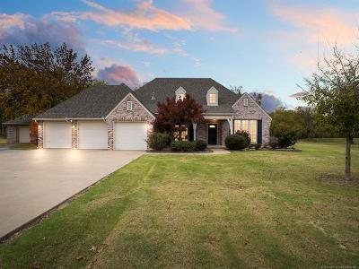 Claremore Single Family Home For Sale: 23025 S Biswell Drive