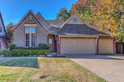 Tulsa Single Family Home For Sale: 5130 S Columbia Place