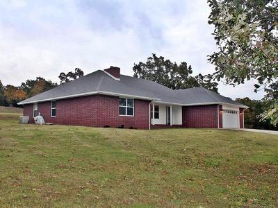 Sallisaw Single Family Home For Sale: 99739 S 4630 Road