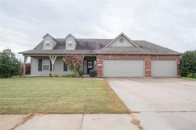 Coweta Single Family Home For Sale: 27812 E 112th Place