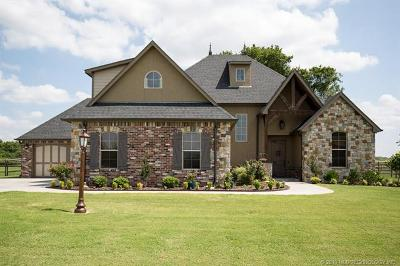 Owasso Single Family Home For Sale: 6314 N Twin Creeks Drive