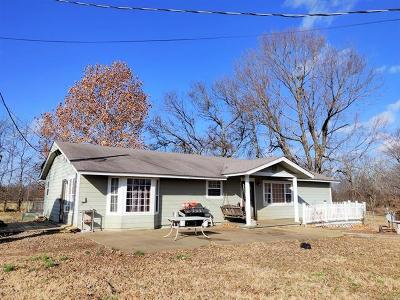 Tahlequah Single Family Home For Sale: 14561 W Mud Valley Road