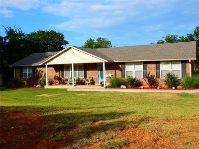 Ada Single Family Home For Sale: 16892 County Road 3520