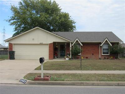Owasso Single Family Home For Sale: 12403 E 83rd Street North