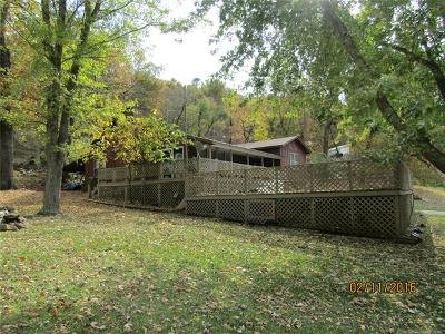 Fort Gibson Single Family Home For Sale: 20812 S 380 Road NW
