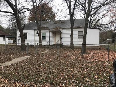 Nowata Single Family Home For Sale: 622 S Pine Street