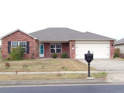Glenpool Single Family Home For Sale: 14721 S Fern Place