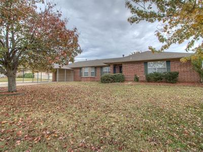 Sapulpa Single Family Home For Sale: 14743 S Moccasin Place