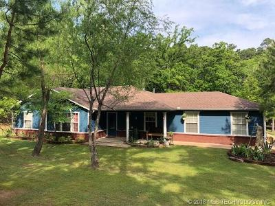 Poteau Single Family Home For Sale: 23267 Canyon Road