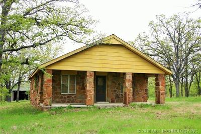 Skiatook Single Family Home For Sale: 15976 N Javine Hill Road