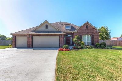 Owasso Single Family Home For Sale: 16234 E 77th Place