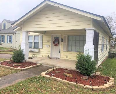 Ada Single Family Home For Sale: 815 E 17th Street