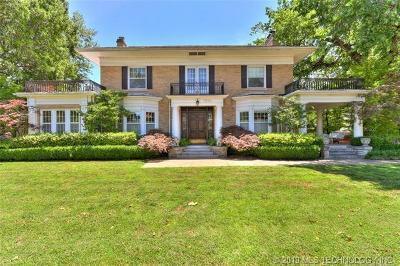 Tulsa Single Family Home For Sale: 1020 E 21st Street