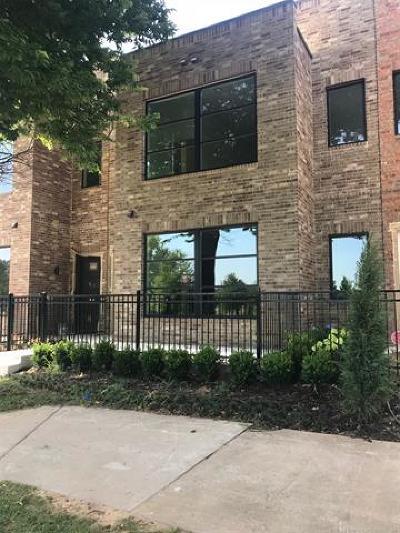 Tulsa Condo/Townhouse For Sale: 1129 E 7th Street #B