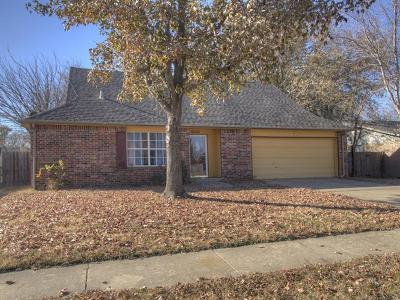 Tulsa Single Family Home For Sale: 314 S 164th Place