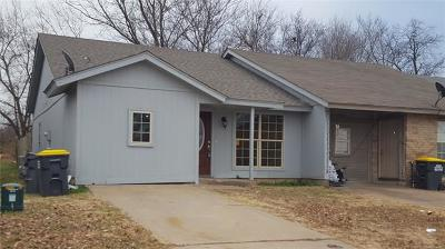 Glenpool Single Family Home For Sale: 14201 S Hickory Place