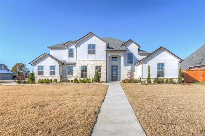 Jenks Single Family Home For Sale: 13012 S 2nd Place