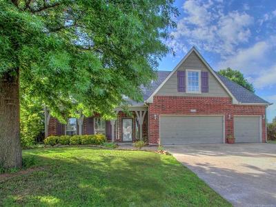 Broken Arrow OK Single Family Home For Sale: $260,000