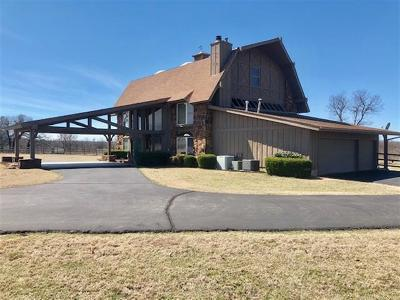 Mounds Single Family Home For Sale: 235 N 280th Road