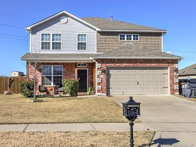 Glenpool Single Family Home For Sale: 14760 S Fern Place