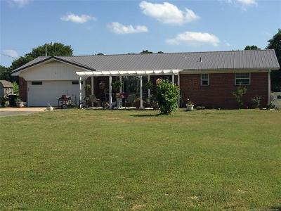 Okmulgee Single Family Home For Sale: 9090 Jefferson Road