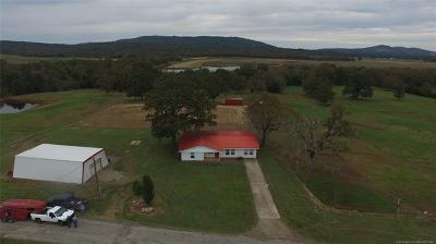 Wister Single Family Home For Sale: 30772 Goat Ridge Road