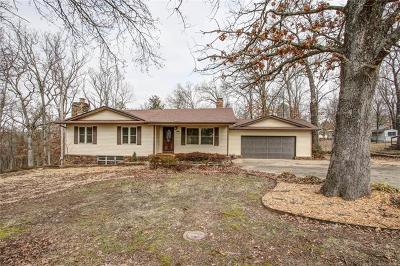 Tahlequah OK Single Family Home For Sale: $189,900