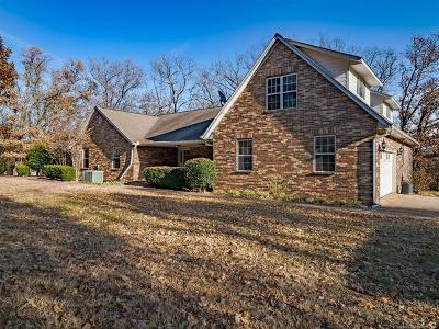 Park Hill OK Single Family Home For Sale: $309,900