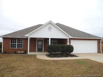 Coweta Single Family Home For Sale: 11280 S 276th East Avenue