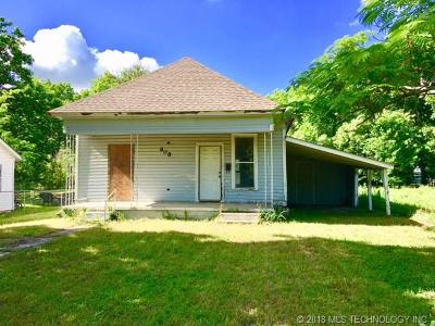 Ada Single Family Home For Sale: 808 W 9th Street