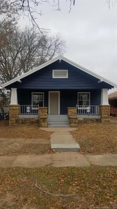 Okmulgee Single Family Home For Sale: 1105 E 3rd Street