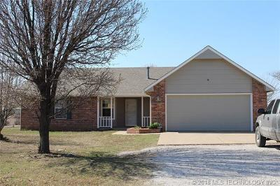Claremore Single Family Home For Sale: 18032 S Ranch Road