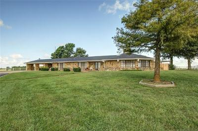Nowata Single Family Home For Sale: 0390 Nowata Rt 1 Road