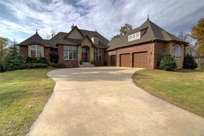 Broken Arrow OK Single Family Home For Sale: $875,000