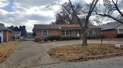 Tulsa OK Single Family Home For Sale: $144,900